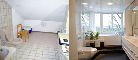 umbau renovation badezimmer fust k che bad. Black Bedroom Furniture Sets. Home Design Ideas