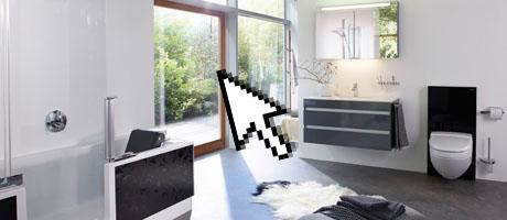 unser badezimmersortiment fust k che bad. Black Bedroom Furniture Sets. Home Design Ideas