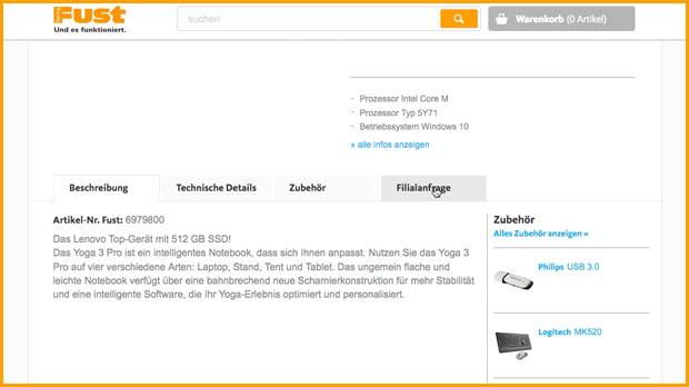 online bestellen und in einer filiale ihrer wahl abholen fust online shop f r elektroger te. Black Bedroom Furniture Sets. Home Design Ideas