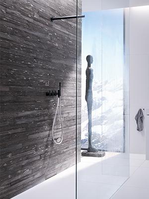 bodenebene dusche. Black Bedroom Furniture Sets. Home Design Ideas