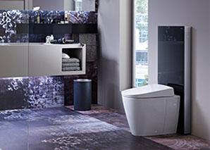 geberit design meets function. Black Bedroom Furniture Sets. Home Design Ideas