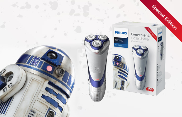 Philips Star Wars Rasierer R2 D2