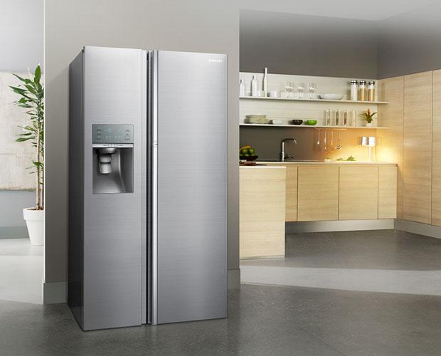 Retro Kühlschrank Fust : Weltneuheit von samsung der food showcase kühlschrank fust