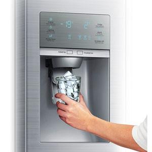 Weltneuheit von Samsung: Der Food ShowCase Kühlschrank ...