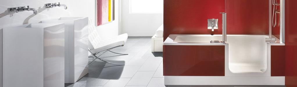 dusch badewanne twinline fust online shop f r elektroger te heimelektronik k chen badezimmer. Black Bedroom Furniture Sets. Home Design Ideas