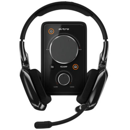 A30 Gaming Headset Black inkl. MixAmp