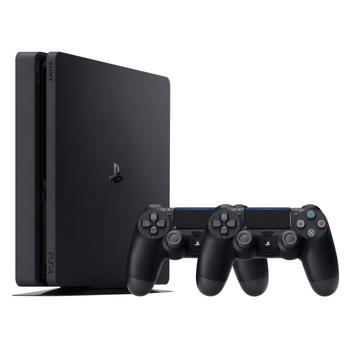 PS4 1TB Slim + 2. DualShock 4