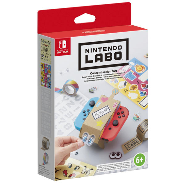 nintendo labo design paket g nstig kaufen. Black Bedroom Furniture Sets. Home Design Ideas