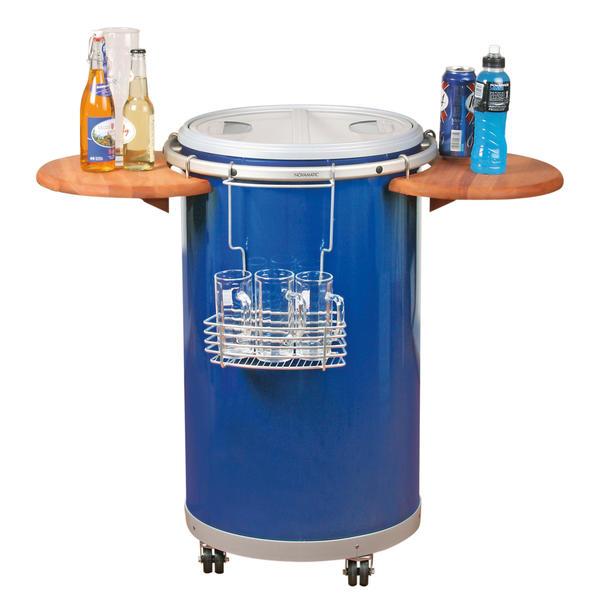 novamatic party cooler 50 blau g nstig kaufen. Black Bedroom Furniture Sets. Home Design Ideas