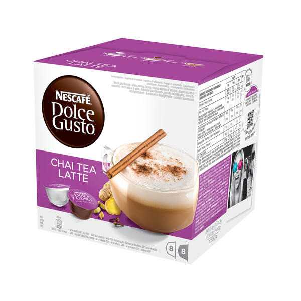 nescafe dolce gusto dolce gusto chai tea latte 220ml pas cher. Black Bedroom Furniture Sets. Home Design Ideas