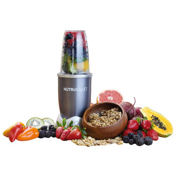 NutriBullet grey, 5-piece, 20000 RPM