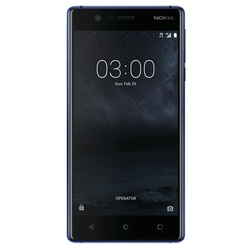 Nokia3 Tempered Blue