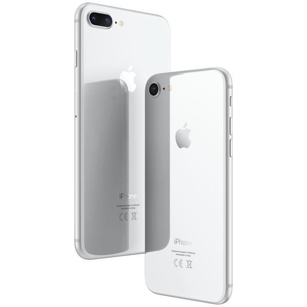 apple iphone 8 plus 64gb silver g nstig kaufen. Black Bedroom Furniture Sets. Home Design Ideas