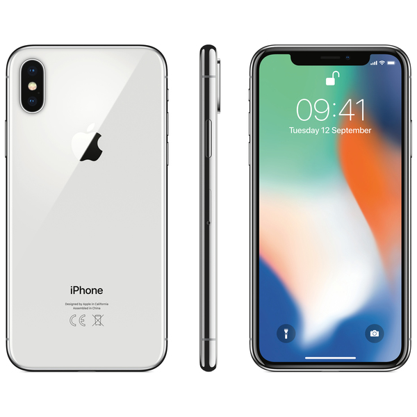 Apple Iphone X 64gb Silver Pas Cher