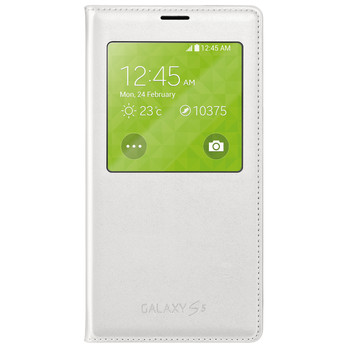 S-View FlipCover white Galaxy S5