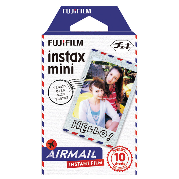 fujifilm instax mini film airmail 10 fotos g nstig kaufen. Black Bedroom Furniture Sets. Home Design Ideas