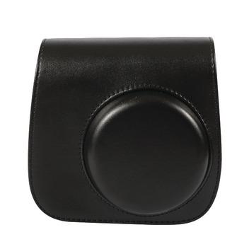Instax Mini 8 Leather Case Black