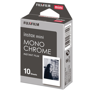 Instax Mini Film Monochrome 10 Photos