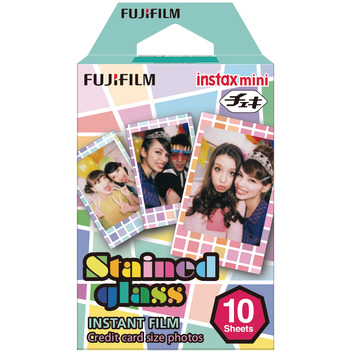 Instax Mini Film Stained Gloss 10 Fotos