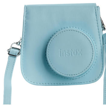Instax Mini 9 Leather Case Ice Blue