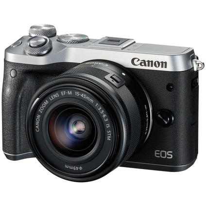 EOS M6/15-45 IS STM Kit silver(1725C012)