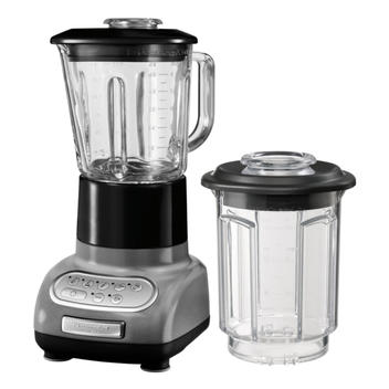 Blender Set Medaillon Silber