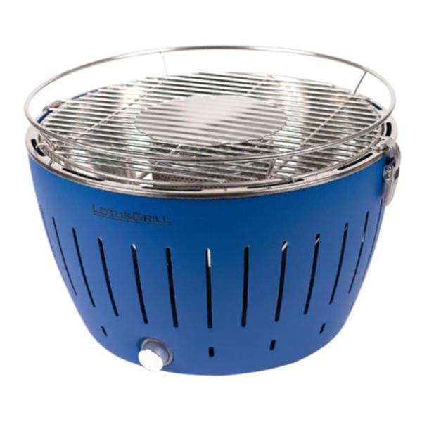 lotusgrill blau backburner grill nachr sten. Black Bedroom Furniture Sets. Home Design Ideas