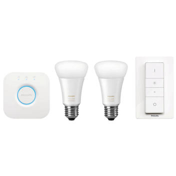 Hue white AMBIANCE 9.5W A60 Starter pack