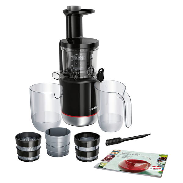 Difference Slow Juicer Et Centrifugeuse : Bosch Slow Juicer MESM731M acier inoxydable - pas cher