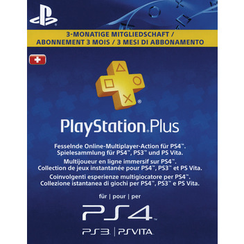 PS Plus Card 90 Tag