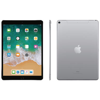apple ipad pro 10 5 4g 64gb gris sid ral pas cher. Black Bedroom Furniture Sets. Home Design Ideas