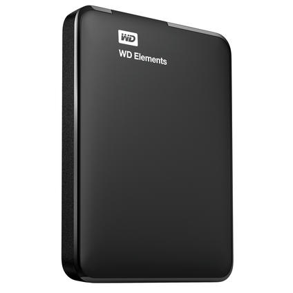 Elements Portable 1TB Festplatte und Harddrive Case black