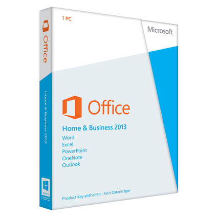 Office 2013 Home and Business Deutsch