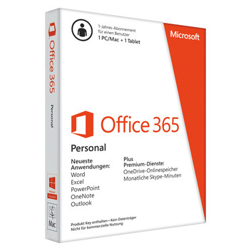 Office 365 Personal Deutsch