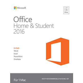 OFFICE Mac 16 Home & Student Deutsch