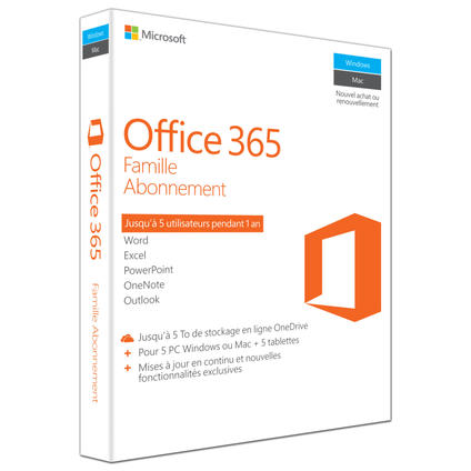Office 365 Home, Francais