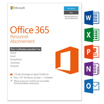 Office 365 Personal, Francais