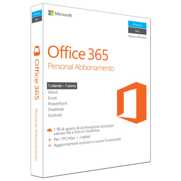 Microsoft Office 365 Personal Italien Pas Cher