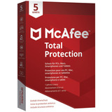 McAfee Total Protection 5 User 2018