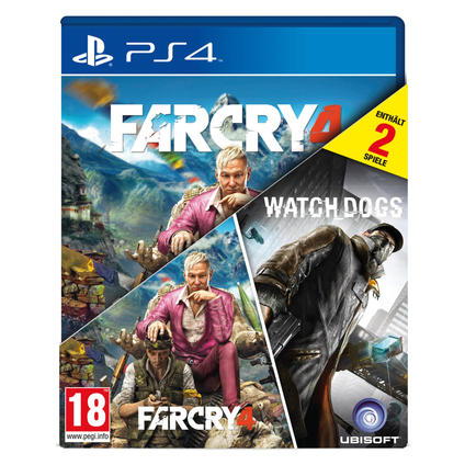 FarCry4+Watchdogs PS4 DE