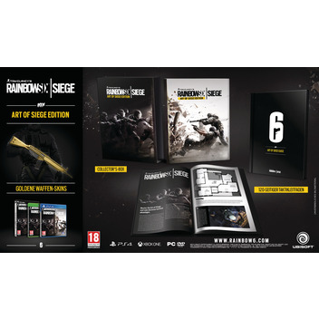 Rainbow Six: Siege Collectors Ed. PS4 FR