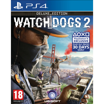 Watch Dogs 2 Deluxe PS4 DFI