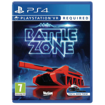 Battlezone VR PS4 DFI