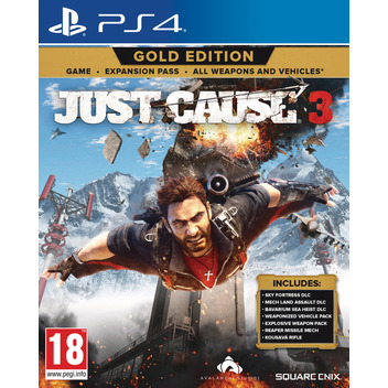 Just Cause 3 Gold PS4 DE