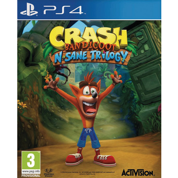 Crash Bandicoot - N'Sane Trilogy PS4 FR