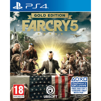 Far Cry 5 Gold Edition PS4 DFI