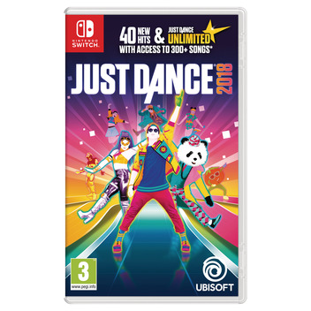 Just Dance 2018 Switch DFI