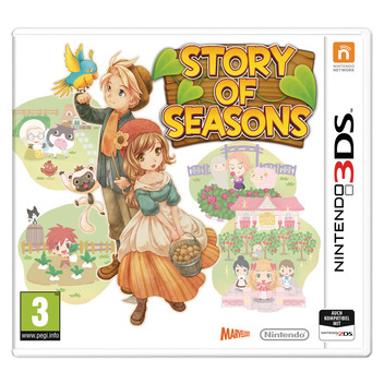 Story of Seasons: Trio of Towns 3DS FR