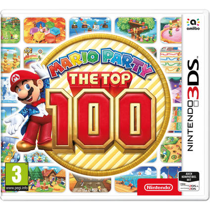 Mario Party: Top 100 3DS DE