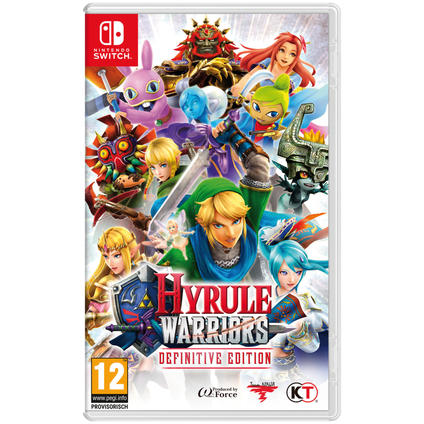 Hyrule Warriors: Definitive Ed Switch IT